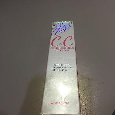 NEW [TOSOWOONG] Makeon Chokchok Shining CC Cream - 30ml (SPF50+ PA+++)