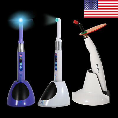 Usa Dental Cordless Wireless Iled Curing Light Lamp Woodpecker Style Led Dl