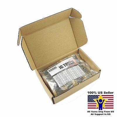 50value 500pcs 12w Carbon Film Resistor Assortment Kit Us Seller Kitb0129