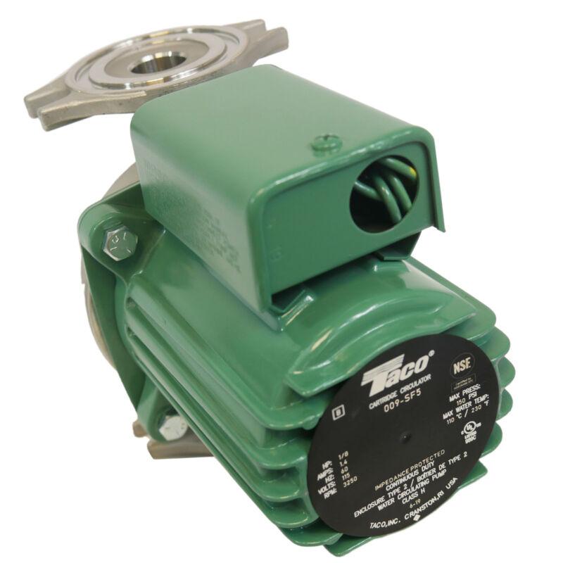 TACO Potable Circulating Pump, 1/8HP, Flanged, 009-SF5