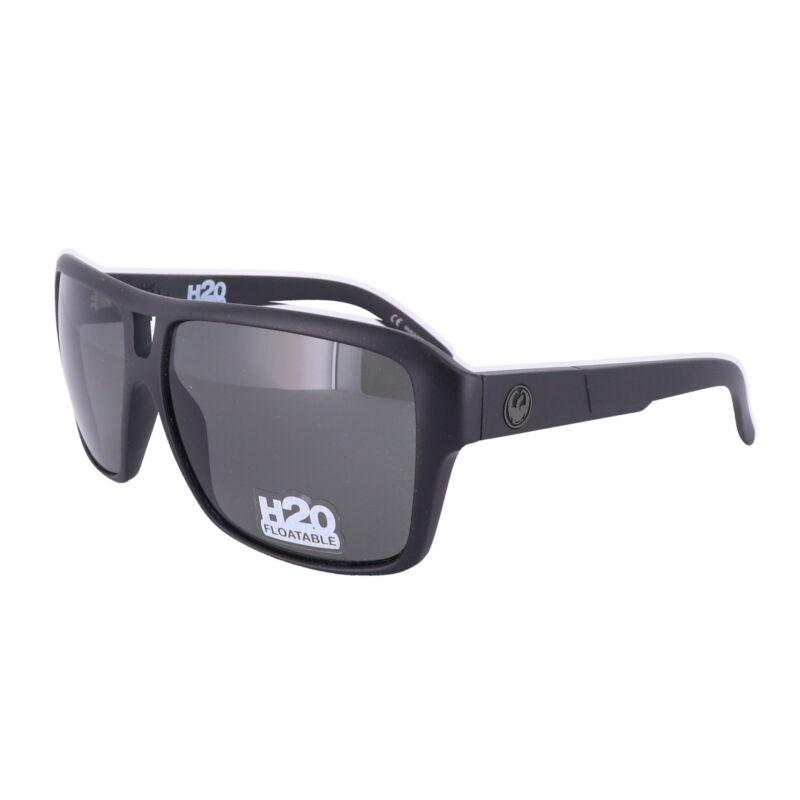 DRAGON Sunglasses JAM H2O NON POLAR 002 Matte Black Rectangle Men 60x13x135