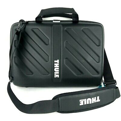 "Thule Gauntlet MacBook Laptop Case with Strap Black 13"" Portable Messenger Bag  for sale  Shipping to India"