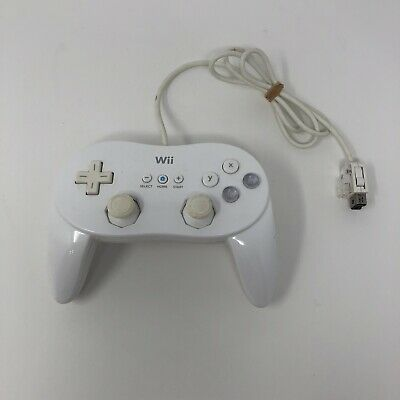 Genuine Nintendo Wii Classic Pro Controller RVL-005 Official OEM