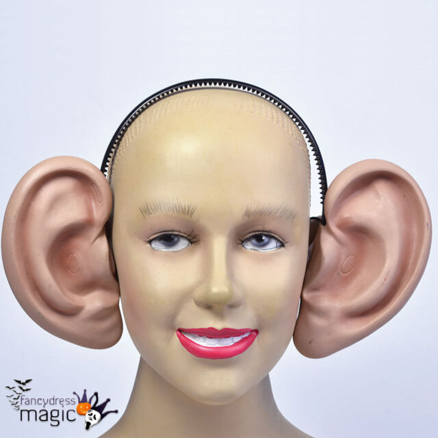 Big Giant Large Human Ears Funny Joke Novelty Headband BFG Fancy Dress Accessory