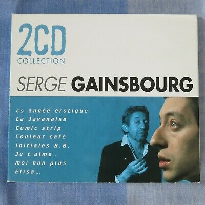 Serge Gainsbourg 2CD Collection (1999 CD Compilation Album) EX