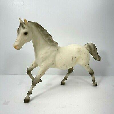 Vintage Breyer Horse White and Grey Stallion