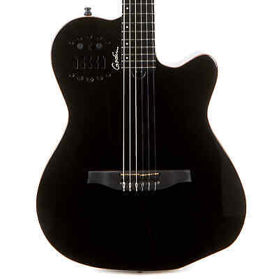 Godin ACS Slim Cedar Acoustic Electric Nylon B-Stock - Black Pearl