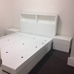 Ashley Queen bed/FACTORY SECOND HAND Fairfield East Fairfield Area Preview