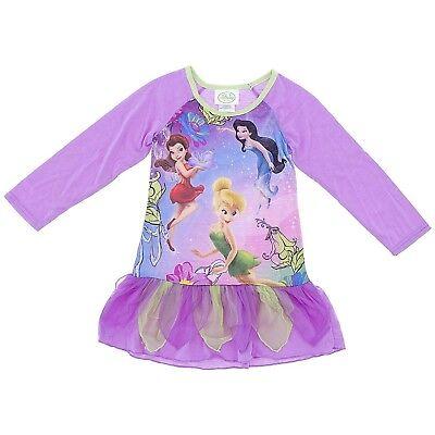 Disney Feen Lila Nachthemd für Mädchen