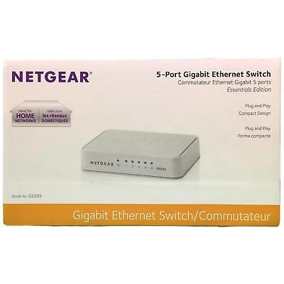 Netgear5-Port Gigabit Ethernet Unmanaged Switch Desktop 10/1