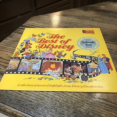 The Best of Disney Vol. Volume Two LP (1978) 2503 12