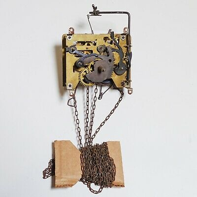 Vintage Badufa B 100  150 Cuckoo Clock Movement