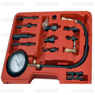 PROFESSIONAL DIESEL ENGINE COMPRESSION TESTER  DIRECT INDIRECT DUAL SCALE TEST