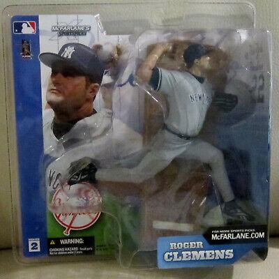 McFarlane Action Figure Roger Clemens New York Yankees MIP Baseball Series 2