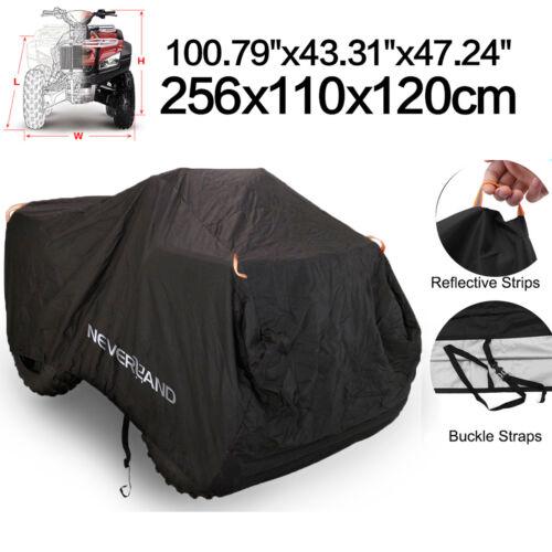 XXXL 190T Waterproof ATV Cover Universal Fit Polaris Honda Yamaha Can-Am Suzuki