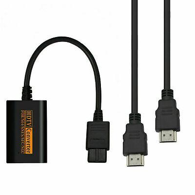 Cables convertidores adaptador HDMI HD 1080P para Nintendo 64 SNES NGC Gamecube
