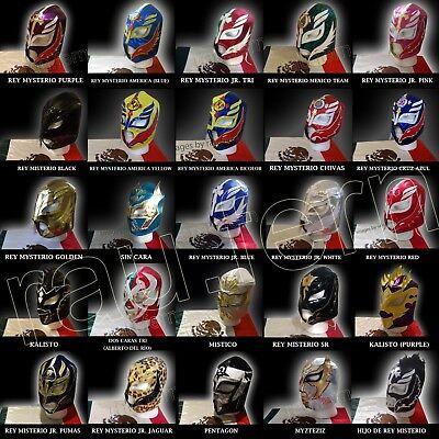 Rey Mask (Lucha mask Rey Mysterio Mistico Sin Cara Kalisto Pentagon Myzteziz Dos)