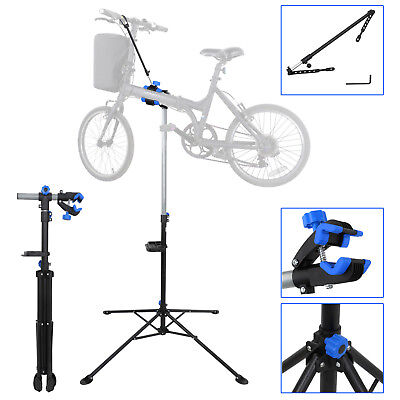 Adjustable Bicycle Bike Maintenance Repair Stand Mechanic Workstand Rack Set