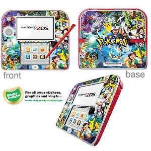 Pokémon Vinyl Skin Sticker for Nintendo 2DS