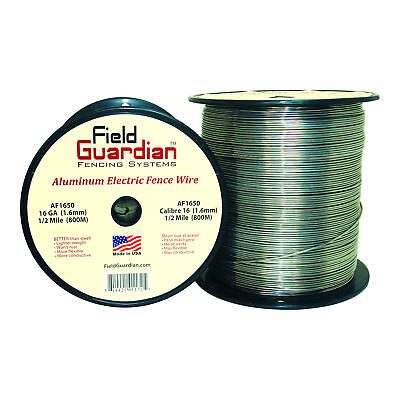 Field Guardian 16 Ga Aluminum Wire 12 Mile Electric Fence Af1650 814421011725