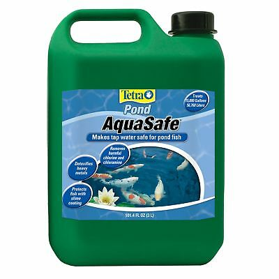 TetraPond 16275 AquaSafe Water Conditioner, 101.4-Ounce, 3-Liter