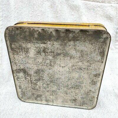 1950s vintage shiba inu chien graphiques blanc femme laine publicité boite boîte