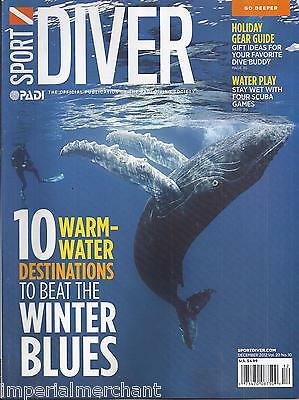 Sport Diver Magazine Warm Water Destinations Holiday Gear Guide Best Dives