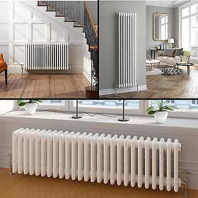 Vertical or Horizontal Traditional Cast Iron Style Column Bathroom Radiators