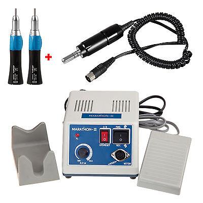 Lab dental Micromotor Motor eléctrico 35K rpm con 2 Pieza de mano...