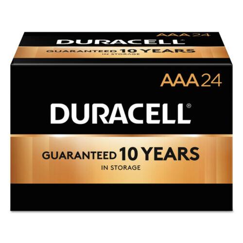 Duracell Coppertop Alkaline Aaa Batteries, 24 Pack
