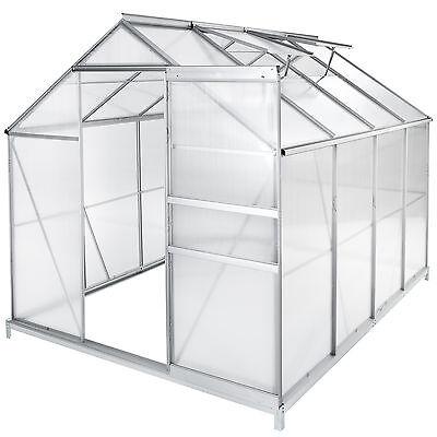 Serra da giardino in alluminio policarbonato per piante orto casetta esterno
