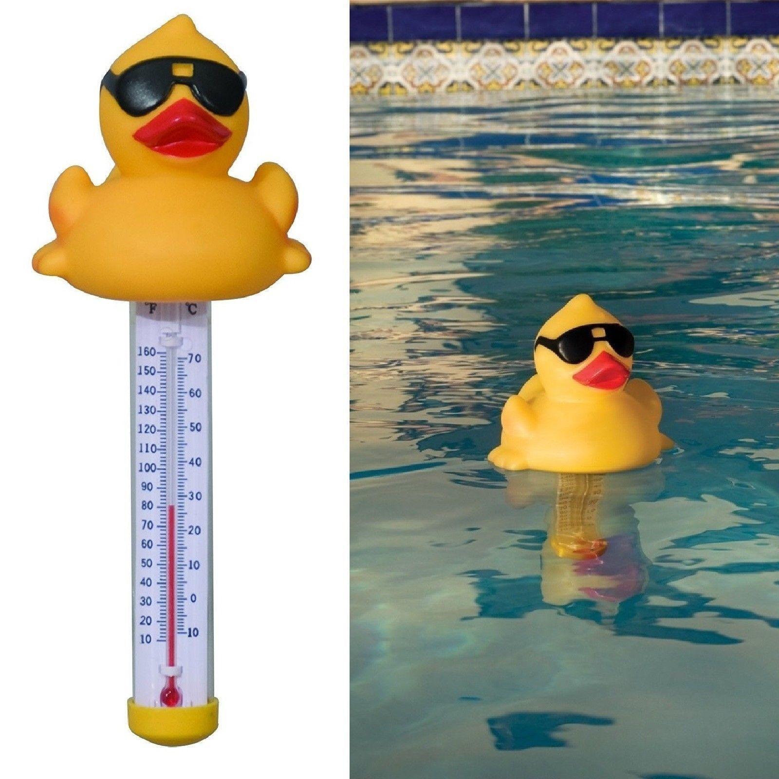 Hot Tub Floating Pool Temperature Sensor Gauge Thermometer M