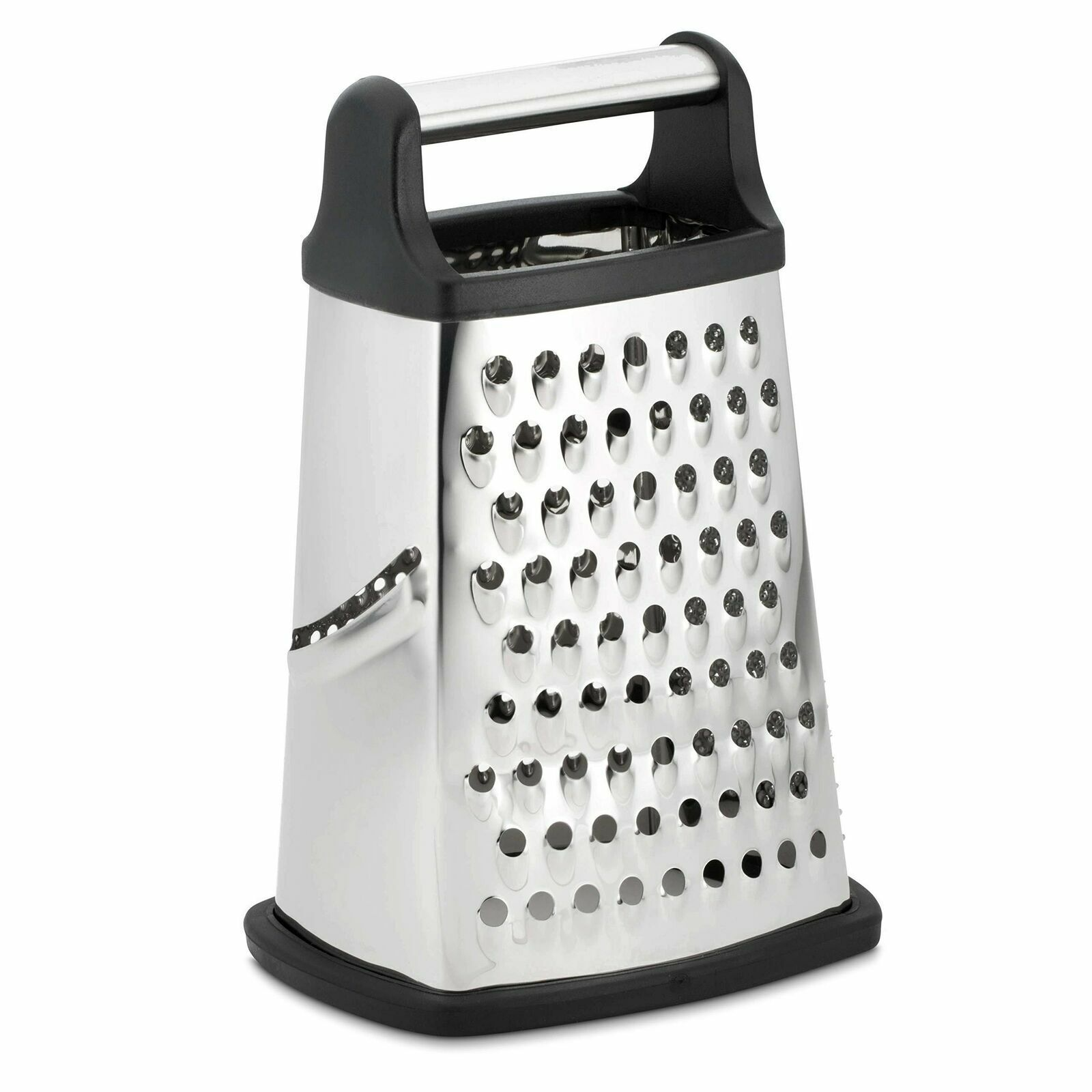 Professional Box Grater, Stainless Steel with 4 Sides, Best