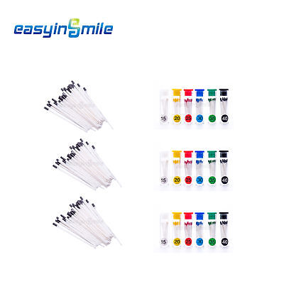 Easyinsmile 3boxes Dental Material Absorbent Paper Points Mixed Sizes Taper.06