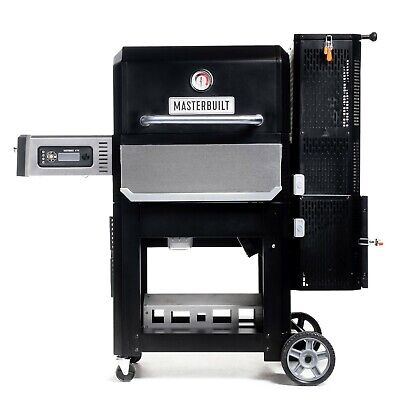 Gravity Series 800 Digital Charcoal Griddle + Grill + Smoker in Black