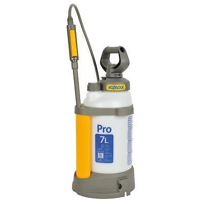 Hozelock Garden Pressure Sprayer Pro 7L Backpack with Adjustable Jet Mist Nozzle