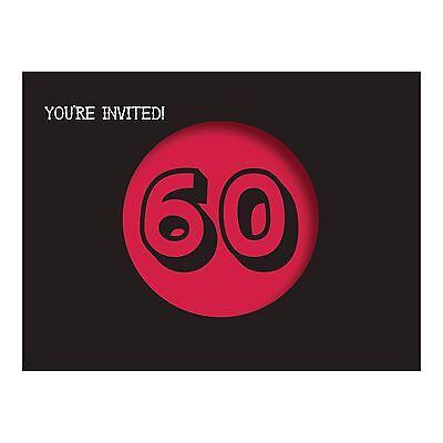 60th Birthday Invites (8 Holy Bleep! 60th Birthday Party Invitations Invites plus)