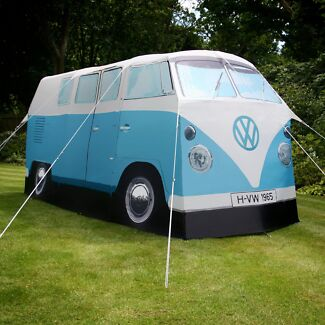 Split Kombi Tent - Blue - Like New Mooroobool Cairns City Preview