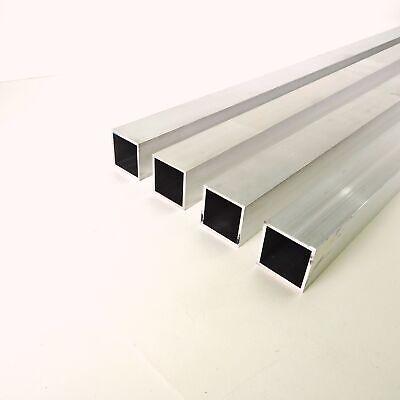 2 X 2 Od Alumnum Square Tubing .125 Wall Thickness 45.5 Long Qty 4 Sku137702