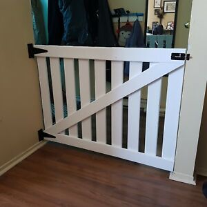 Custom wood baby gates