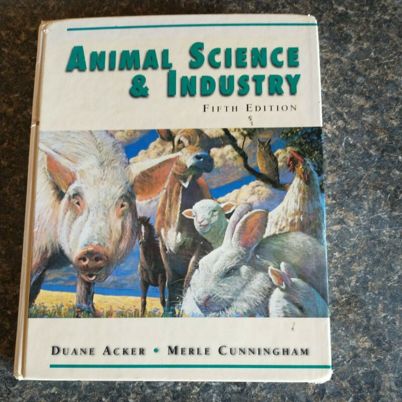 Animal Science & Industry Fifth Edition