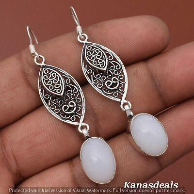 Thanksgiving Gift 6 Gm Opal 925 Sterling Silver Plated Earring ER-28304
