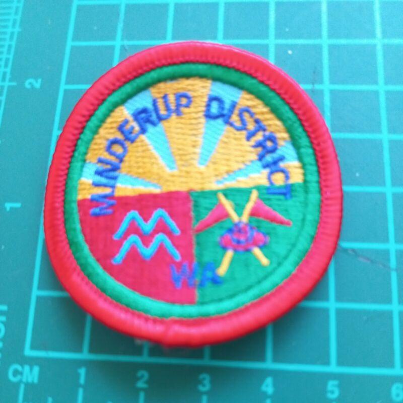 Western Australian Scout District Badge -  Minderup