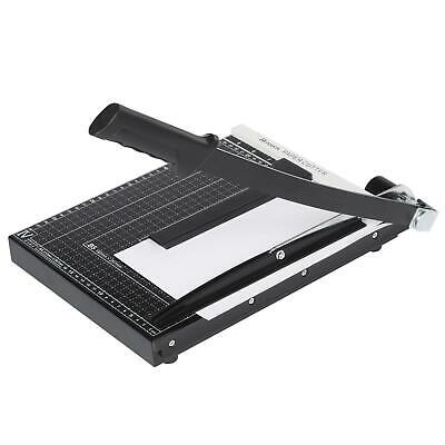 Heavy Duty Guillotine Paper Cutter A4 To B7 Photo Cut Trimmer Ruler Office Kit