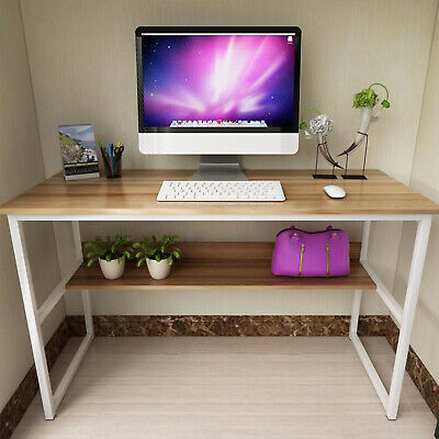 Small Computer Desk Drawer Shelf Keyboard Tray Corner PC Table Laptop Home UK