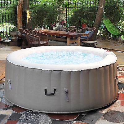 NEMAXX SPA180P selbstaufblasbarer Außenwhirlpool Ø180cm Outdoor Pool mit Heizung