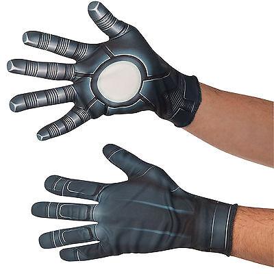 Captain America Handschuhe (Captain America Bürgerkrieg - War Machine Kostüm Handschuhe Erwachsene)