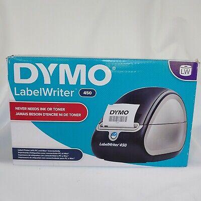 Dymo Labelwriter 450 Label Printer - Blacksilver