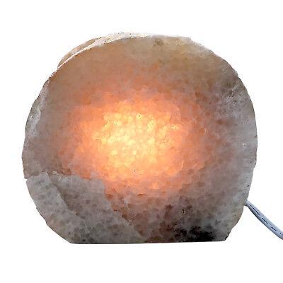 Rock Lamp Agate Geode Lamp Natural Display Specimen Free USA Shipping AL35