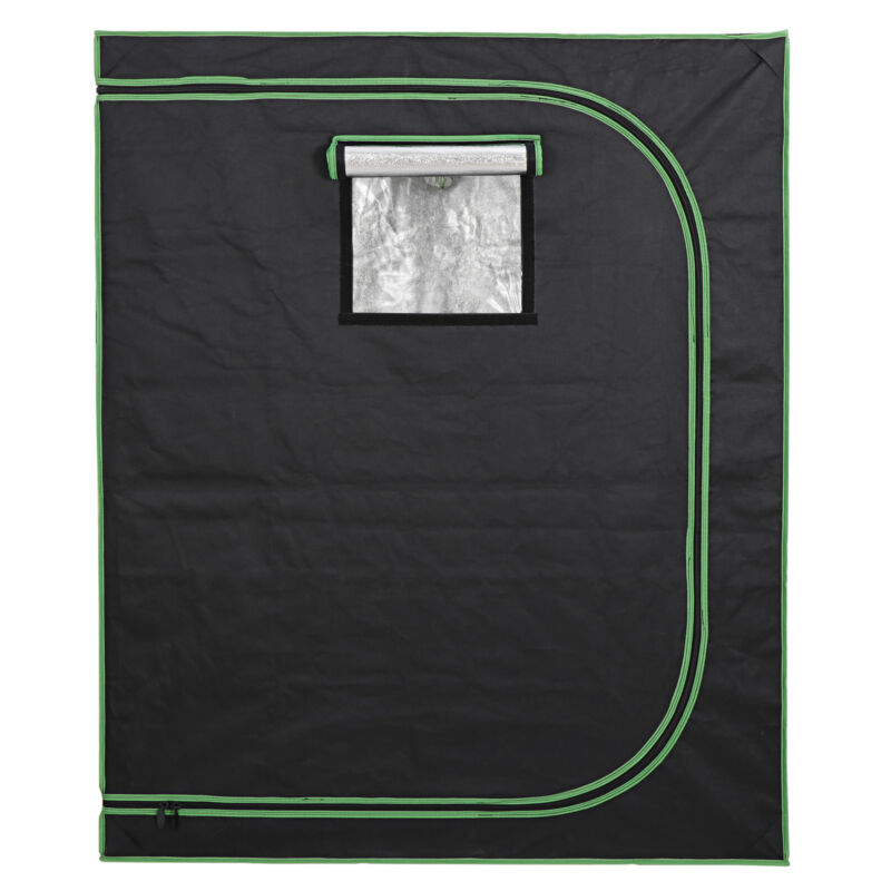 "48""x24""x60"" Hydroponic Grow Tent  Window Floor Tray for Indoor Plant Growing"